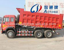 Double-Axle Dump Trailer Side/Rear dump truck