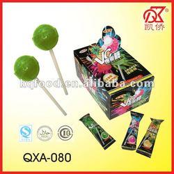 12g Halal Lollipop Candy With Sour Powder