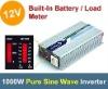 1000W pure sine wave inverter off grid inverter power 12V