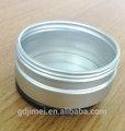 Estañe la pequeña caja del espacio en blanco de la poder de aluminio de las cajas de la lata del metal de la caja