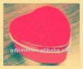 Coração forma de lata , casamento caixa de presente , comida de lata , lata de chocolate