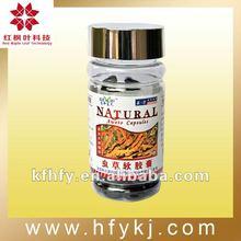 Herbal extracts Cordyceps Sinensis softgels
