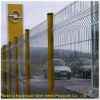 The pvc coated welded triangle bending guardrail nets