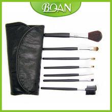 7 Pcs Beauty Cosmetic Shaving Cheek Brush Nylon Kabuki Brushes