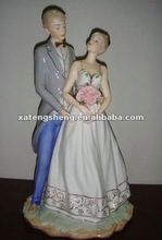 Bonecas de cerâmica para o casamento. Presente de casamento e festas