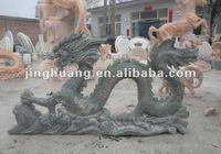 G654 chinese granite dragon sculpture
