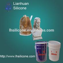 RTV 2 liquid silicon rubber for making statues buddha molds,furniture, furniture decorative materials, statues