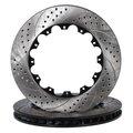 Freno del rotor- arc+holes carreras de discos de freno