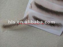 100% human hair false eyebrow