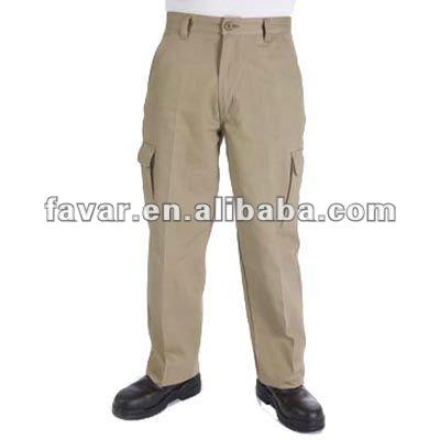 industrial para hombre de algodón pesado de carga del taladro ropa de trabajo pantalones de color caqui diseñador de pantalones de carga