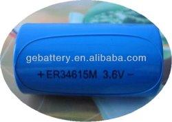 ER34615 series 3.6V 19Ah dry battery cell