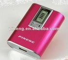 USB External Rechargeable Mobile Power Bank 5000mAh mobile phones,ipad,iphone,PSP,PDA,NDS,GPS etc digital devices / Apple Spare