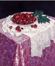 100% handmade still life fruit oil painting on canvas