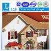 ISO9001:2008 certified 3 tab fiberglass asphalt shingles