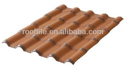 PVC roofing tile/Royal type/720/plastic roofing