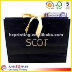 2012 fashion luxury paper shopping bag brand name
