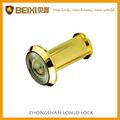 Material de cobre amarillo grado 180 espectador de la puerta para la puerta 35-55mm
