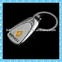 DKMK0809 no minimum custom promotional metal car logo keychain