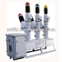 LW8-36 36kV Electric Medium voltage AC 3 Pole outdoor Pole mounted 33kV 630A SF6 Circuit Breaker