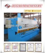 Alloy sheet guillotine cutter
