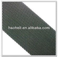 2 inch black polypropylene heavy webbing strap for bags