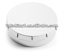 round mint tin box