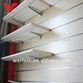Angle d'affichage étagères slatwall