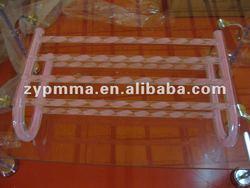 Acrylic colored line Towel Rack