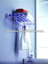 Acrylic Towel Rack