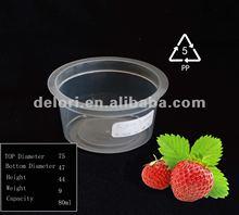 pp plastic disposable fruit container
