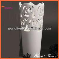 pottery art decor vase