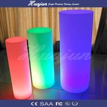 lighted roman column