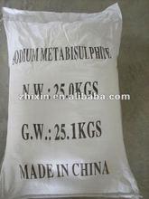Sodium Metabisulphite 98% for industrial use