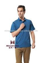 Latest design solid color cotton printing men t shirt