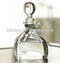 difusor de lingüeta do frasco de vidro com vime etiquetas