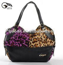 Fashion bags ladies handbags leather animal print handbags
