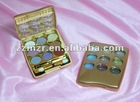 golden case luxury eye shadow