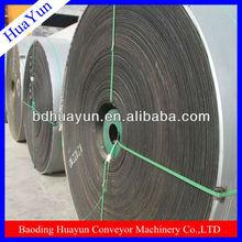 Acid and alkali resistant conveyor belts