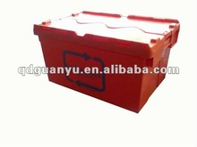 Storage and transporting tote box - returnable reusable packaging