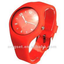 Custom deisgn silicone watch best for women