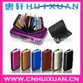 Promoción de aluminio titular de la tarjeta/tarjeta de crédito cartera/de crédito tarjeta de caso