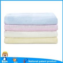 100% bamboo fiber baby bath towel