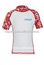 (Hot Selling)Kid's Short Sleeve Rash Guard/Shirt