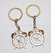 new design keychain charm alarm clock J.M.R.K-032
