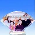 fanshapedผลึกภาพของครอบครัวสำหรับบ้านของที่ระลึก