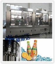 Automatic fruit juice bottle washing filling capping machine