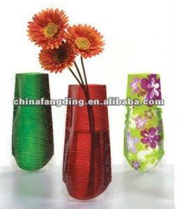Jarrones de flores y decorativos ( plegable, re shapeable, reutilizable, unbreakable )