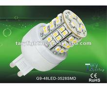 G9 led lamps 2012 hot sale high power 3w led corn light