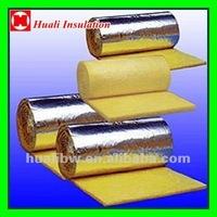 Fiberglass acoustic wool batts thermal insulation material (board, blanket) for international market (CE,ISO,DNV ,BV)