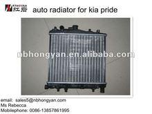 Auto parts and Auto Radiator for KIA PRIDE